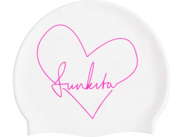 Funkita Silicone Swimming Cap, funkita scribble